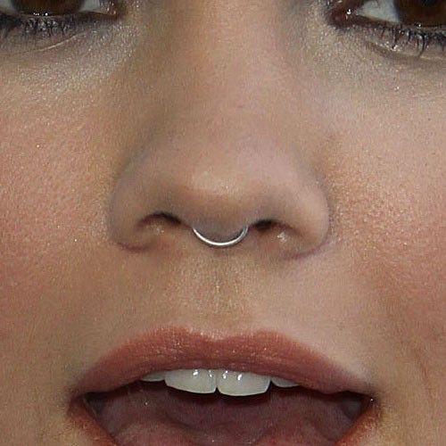 Maia Mitchell Septum Piercing Septum Piercing Small Septum Piercing Nose Piercing