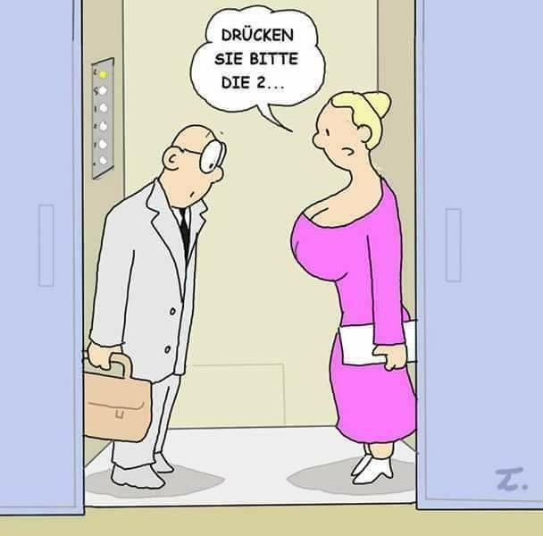Pin von Biggi Reitz auf Cartoons | Lustig humor, Witze