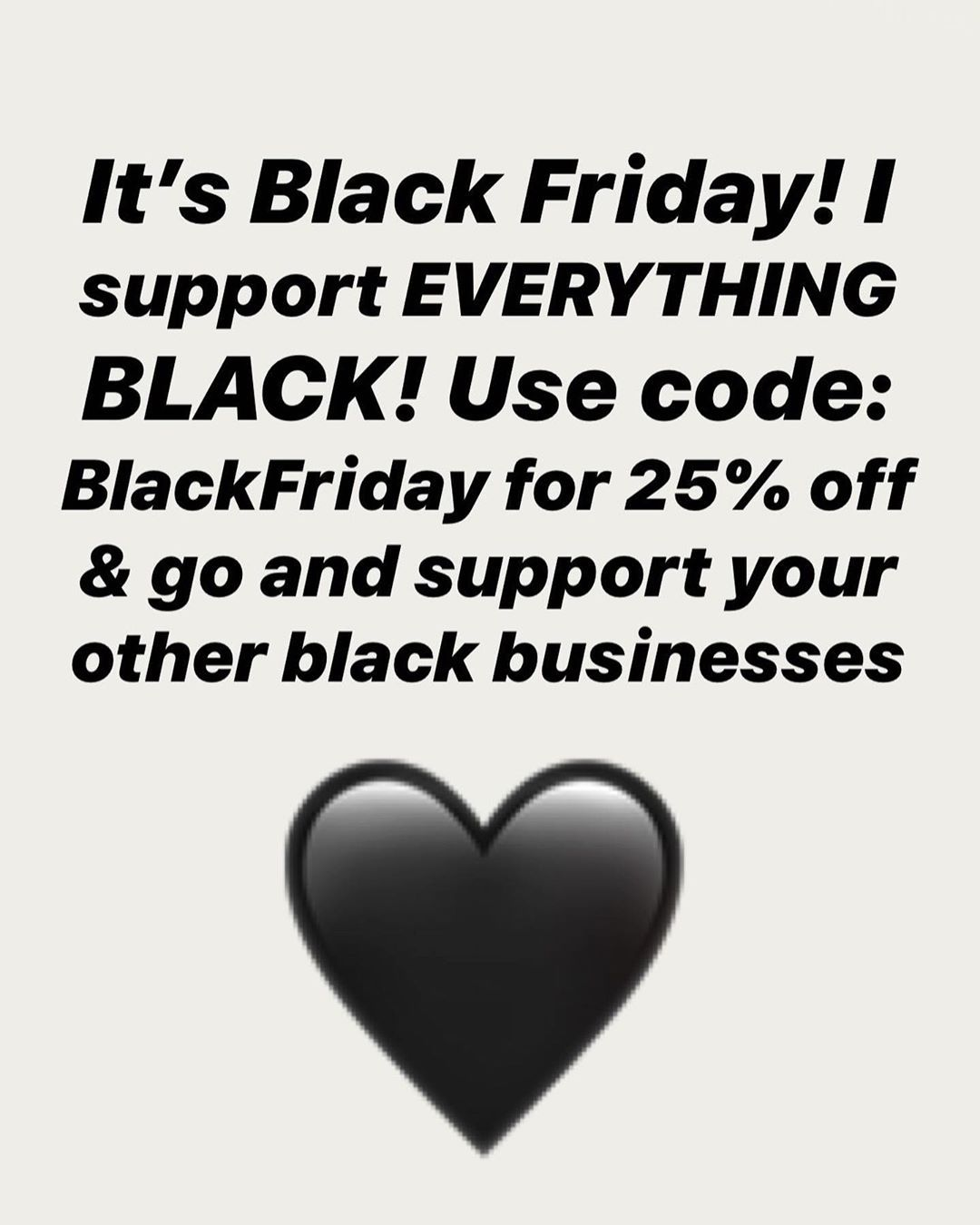 Did you support your Black Businesses today? It's not too late...use code: BlackFriday for 25% off!! 🖤✊🏾🖤 . . .