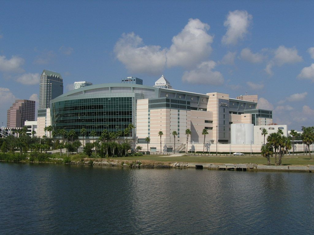 Amalie Arena, Tampa FL Tampa florida, Vacation places