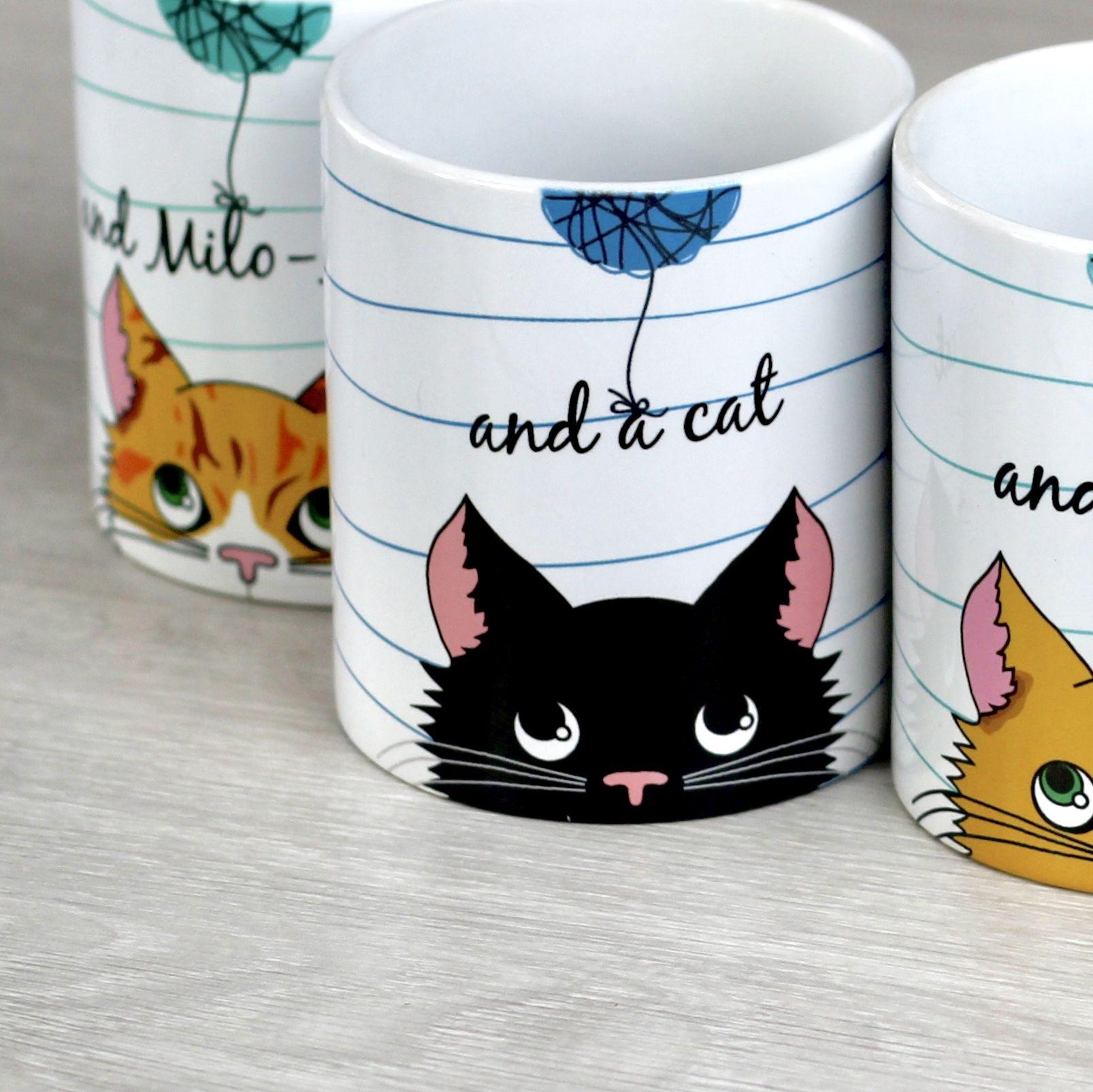 Personalised Cat Mug