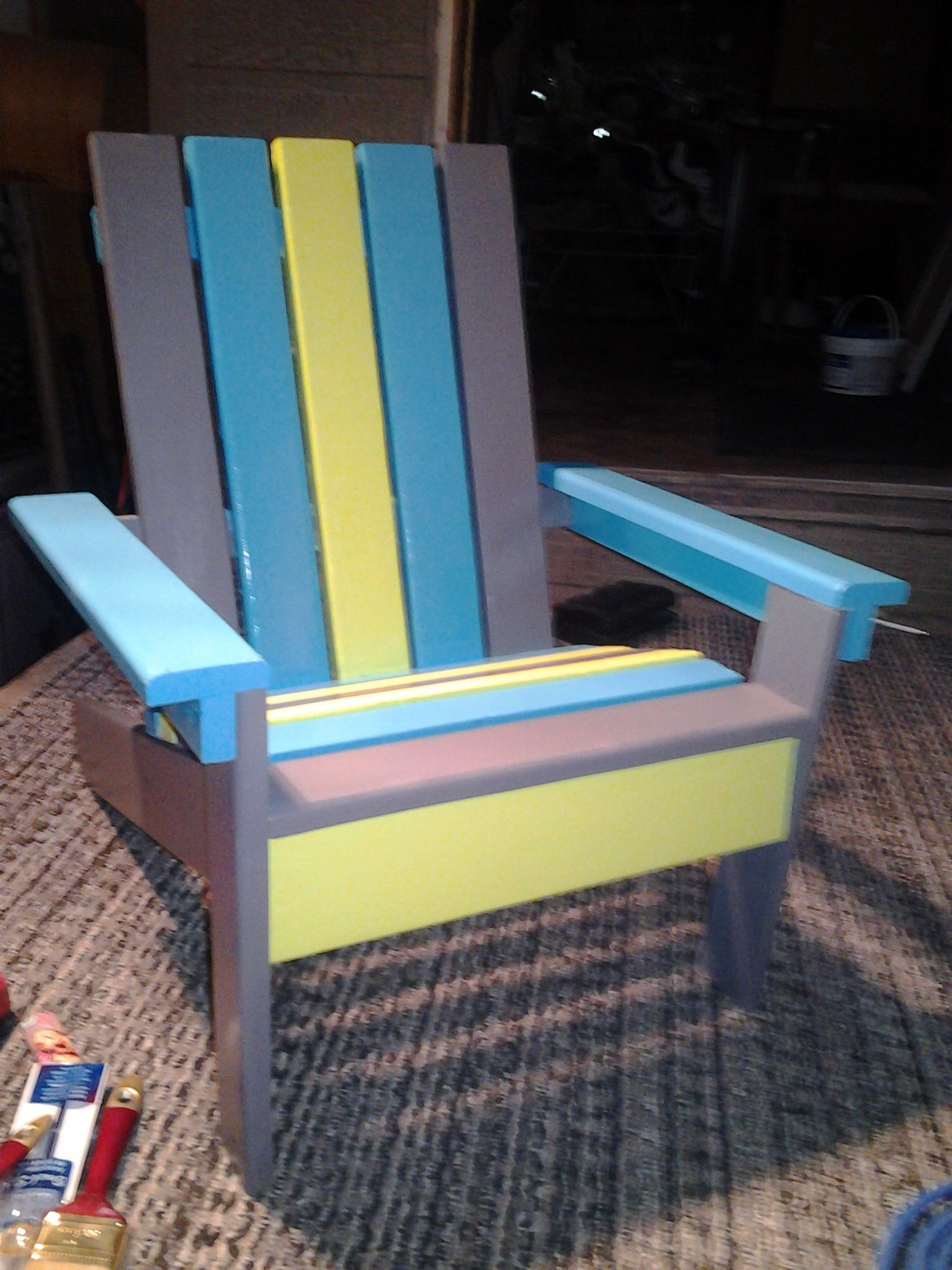 Kids Adirondack Chair Do It Yourself Home Projects from