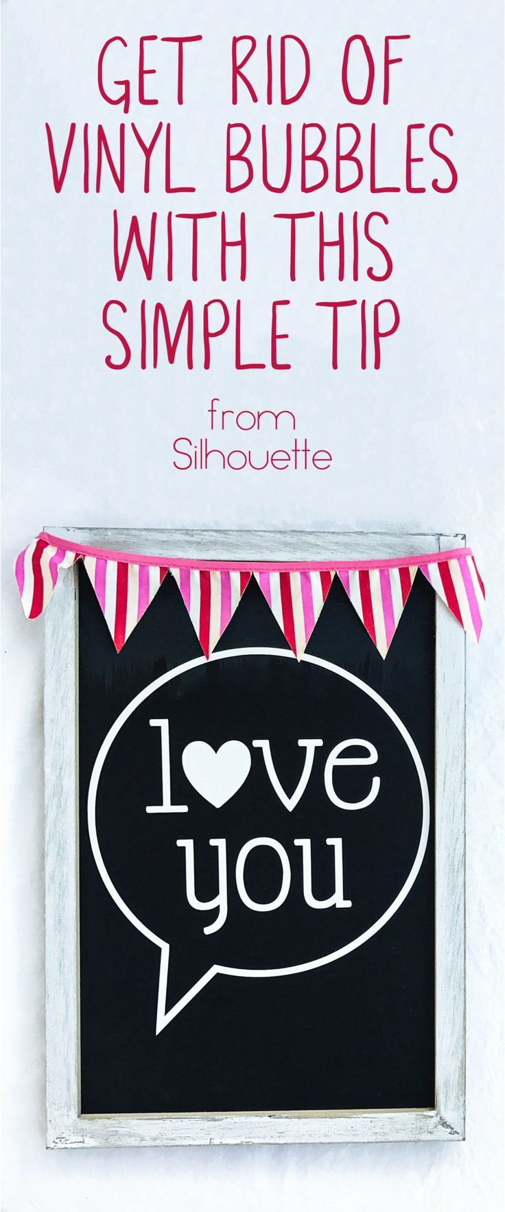 Get Rid Of Vinyl Bubbles With This Simple Tip Vinyl Projects Silhouette Silhouette Tutorials Silhouette Cameo Tutorials
