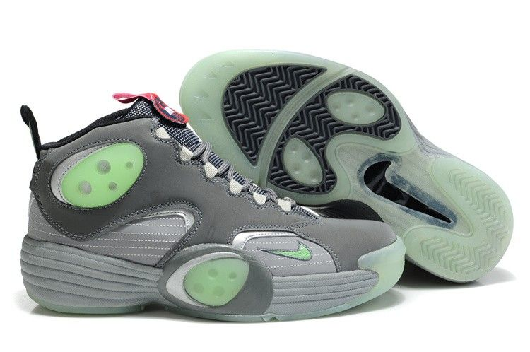Charming Galaxy Nike Zoom Rookie Penny Hardaway Mens Shoes Grey/Blue