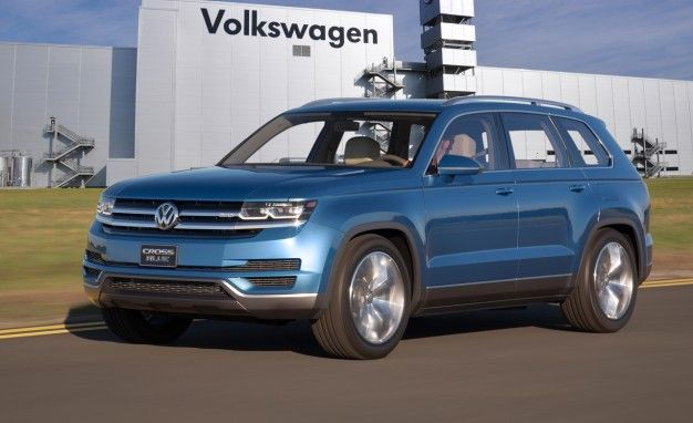 Vw S Three Row Crossover Suv Confirmed For Tennessee Production