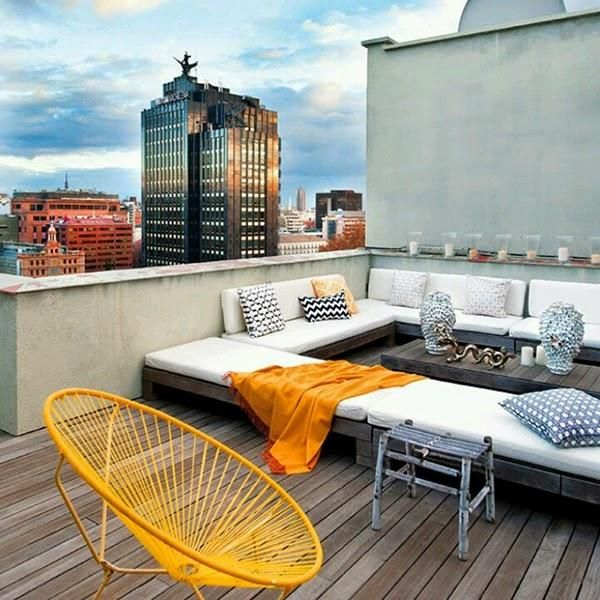 Captivating 7 Ideas Low Cost Para Cambiar Tu Casa, ¡toma Nota! RooftopsRooftop  TerraceRooftop ...