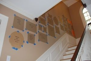 step-by-step guide to making a gallery wall