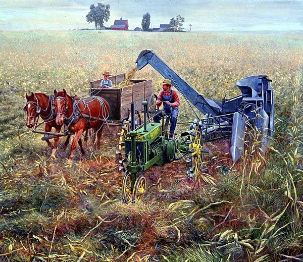 Golden Harvest Mort Kunstler Fun On The Farm Clipart