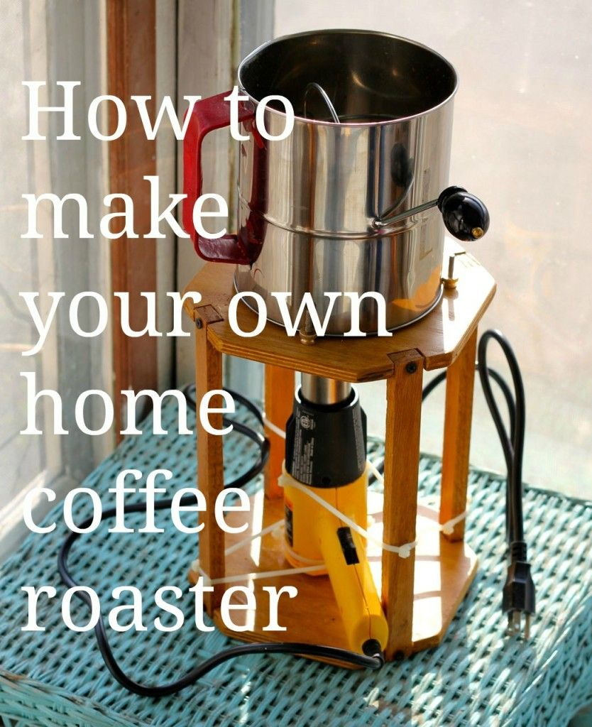 How to Make Your Own Coffee Roaster