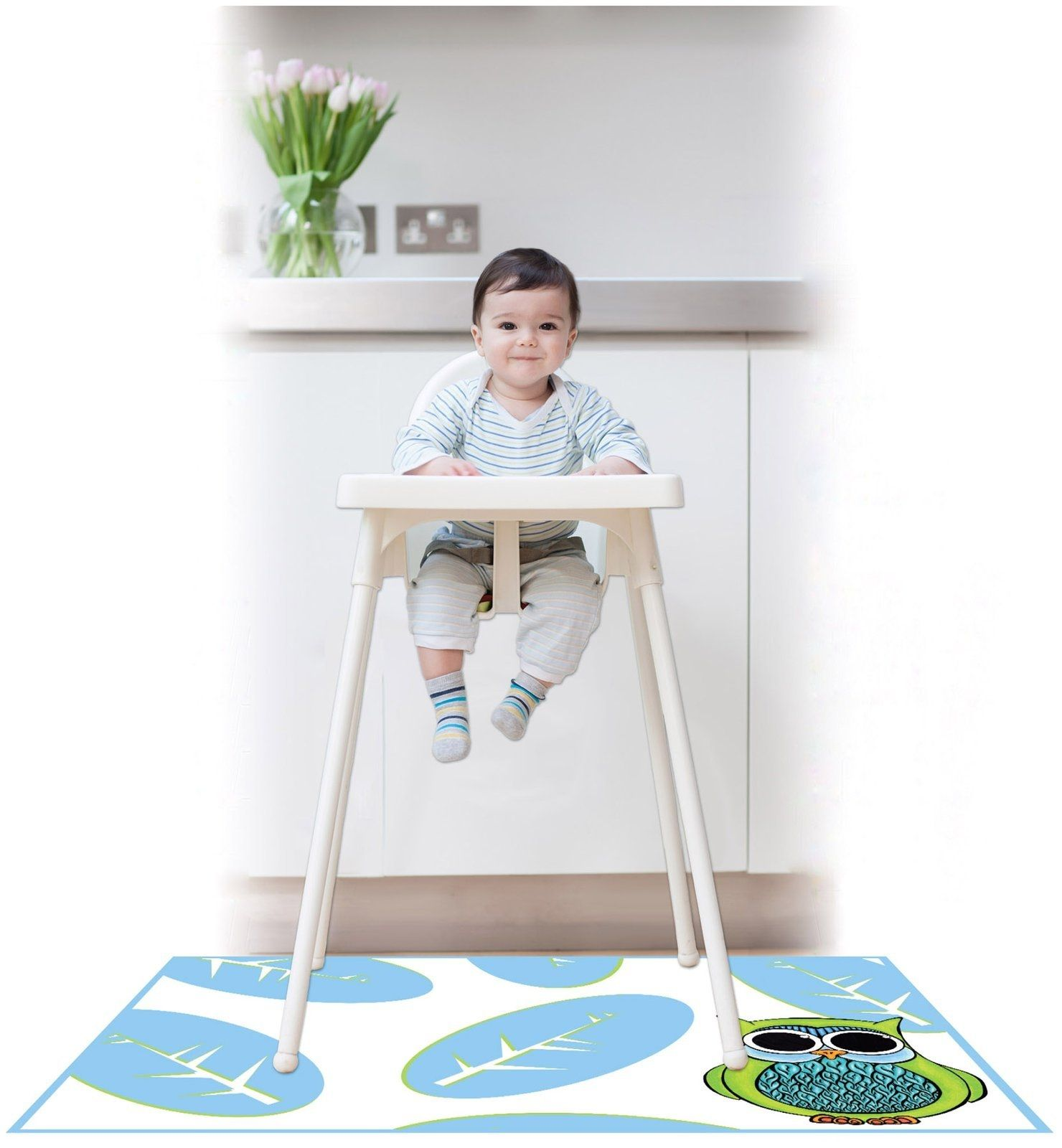 under high chair floor mat http jeremyeatonart com pinterest