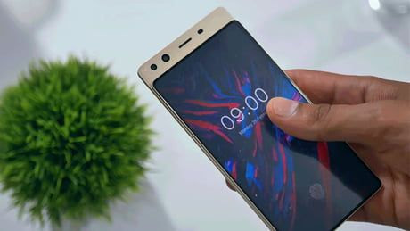 Notch? no! slider yes! Doogee Mix 4 Future iphone, Phone