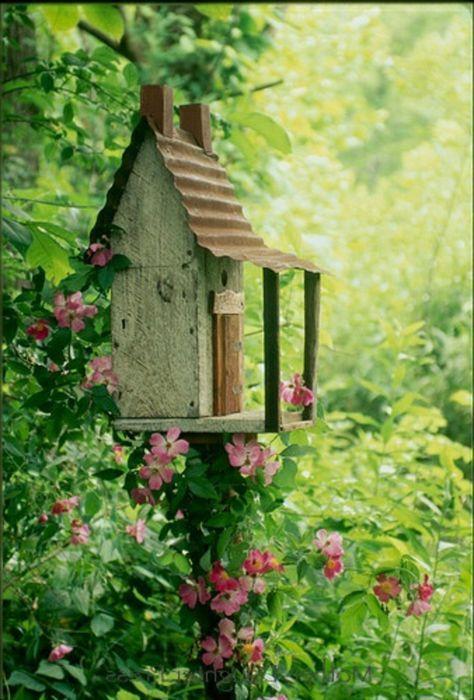 Vogelhaus selber bauen - DIY Bauanleitung #vogelhausbauen