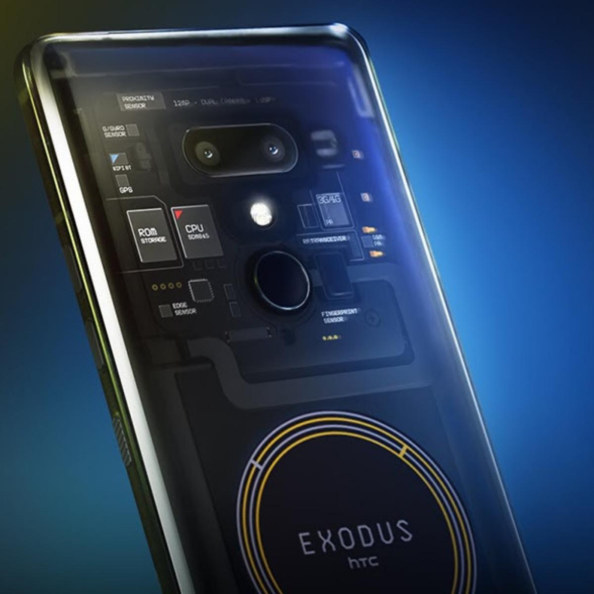 HTC Launches Exodus 1 First Blockchain Phone Phone, Htc