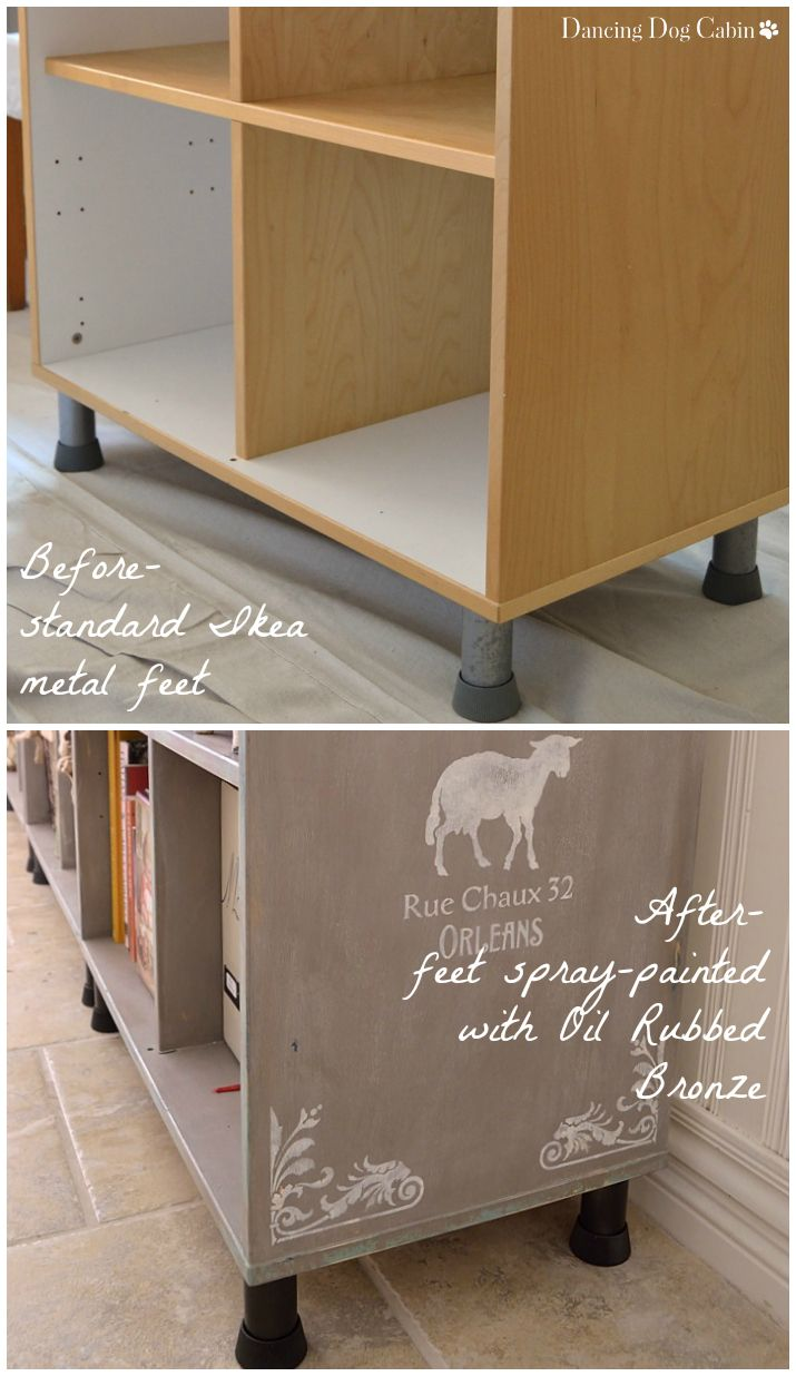 How to Transform an Ikea Bookcase | Ikea bookcase, Ikea ...