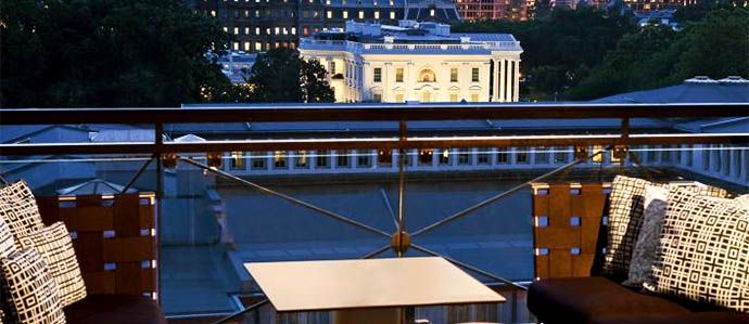 With Views Overlooking The White House