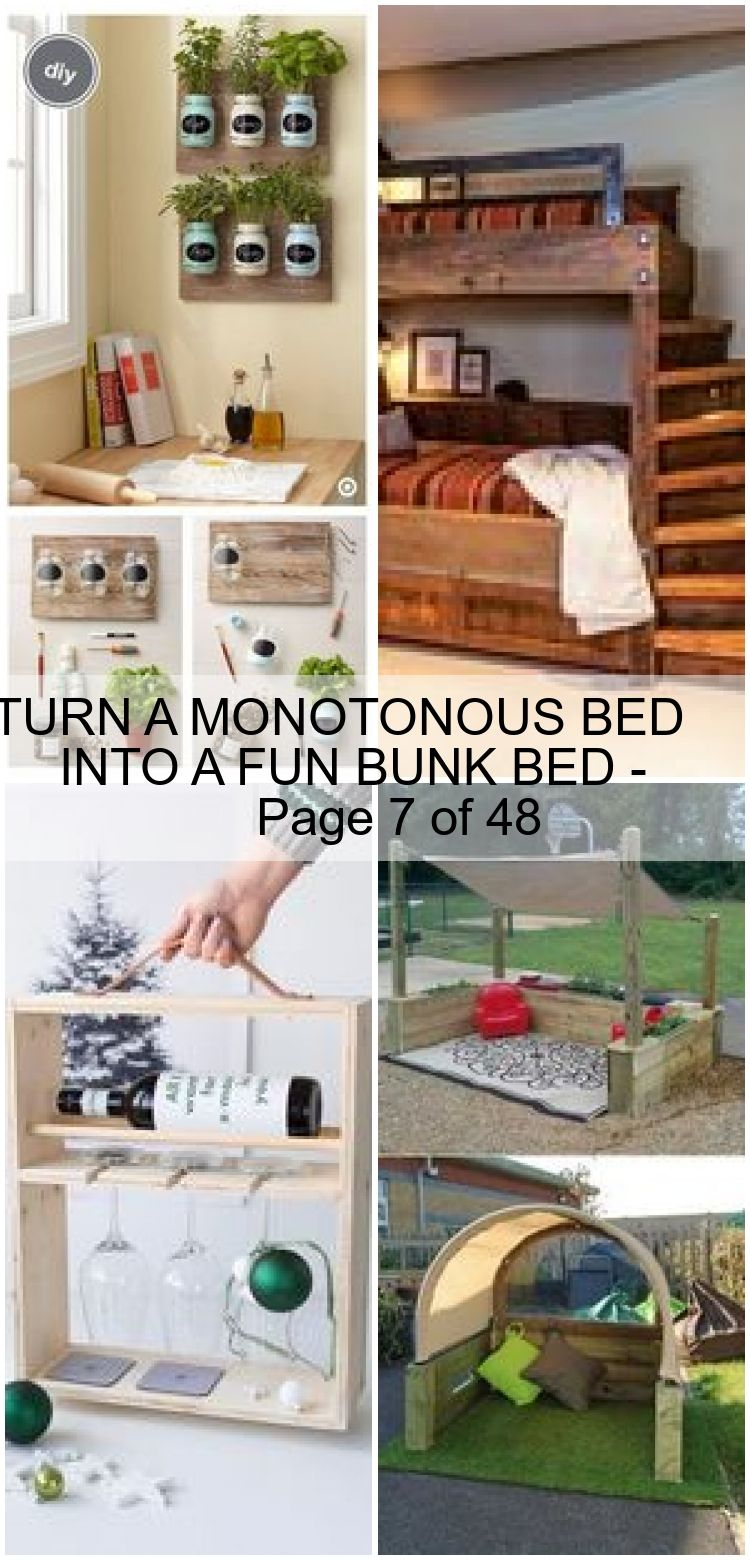 TURN A MONOTONOUS BED INTO A FUN BUNK BED  Page 7 of 48  TURN A MONOTONOUS BED INTO A FUN BUNK BED  Page 7 of 48
