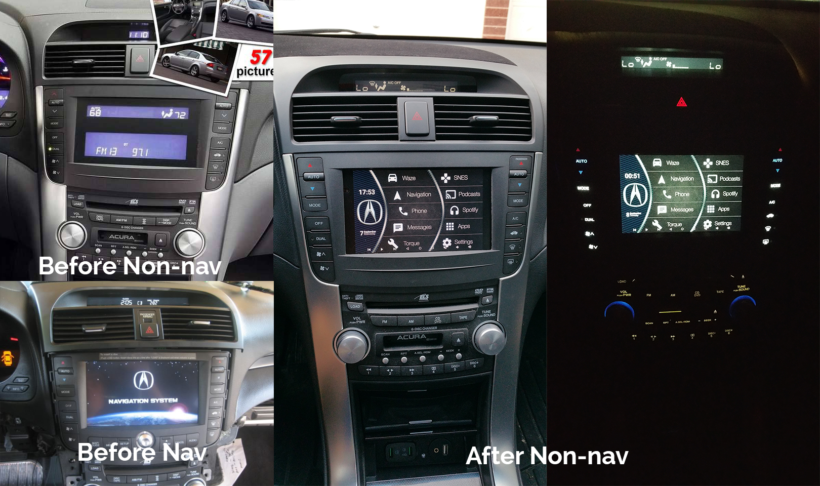 Installed A Nexus 7 In My 2004 Acura Tl Quickcrafter Acura Tl Acura Acura Tsx