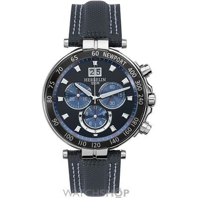 Men's Michel Herbelin Newport Marine Chronograph Watch