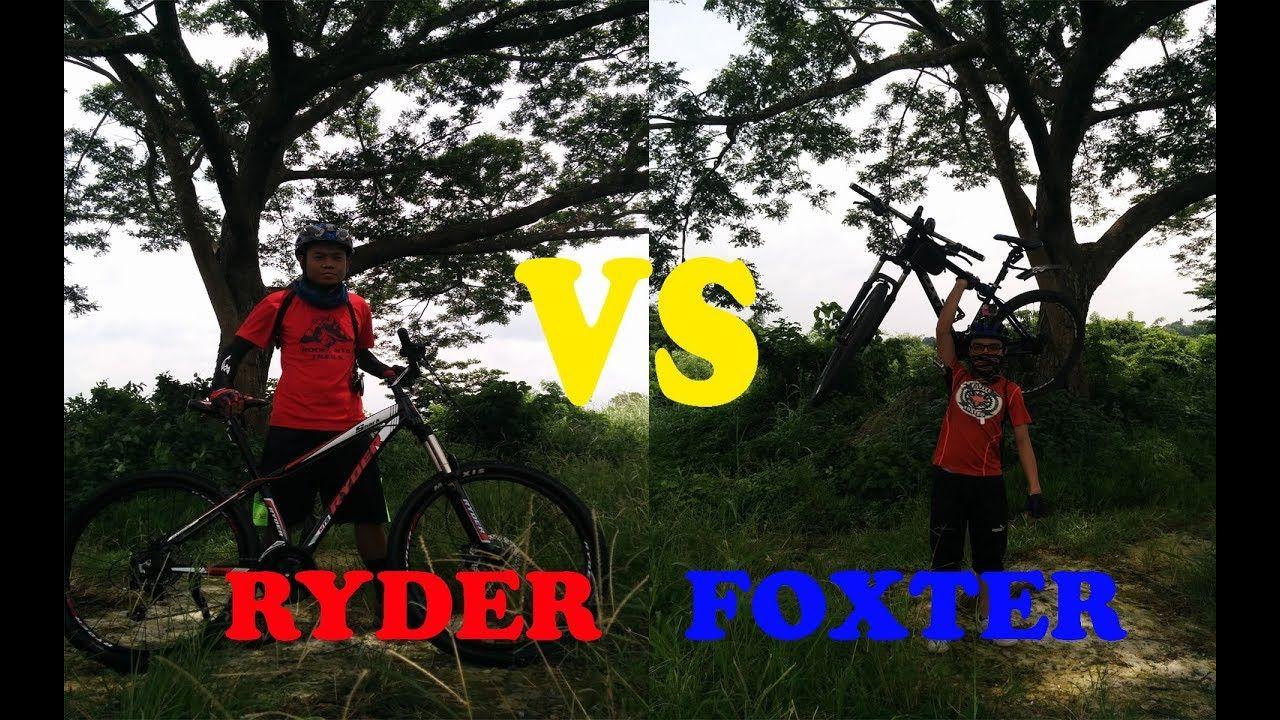 Foxter Mtb Vs Ryder Mtb Bailen To Alfonso Cavite Philippines