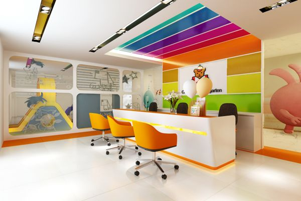 Interiors Kindergarten Lobby Design