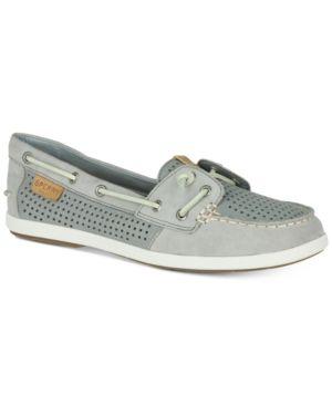 add8b6abd761 Sperry Women's Coil Ivy Boat Shoes - Gray 9.5M Sperrys Women, Sperry Top  Sider