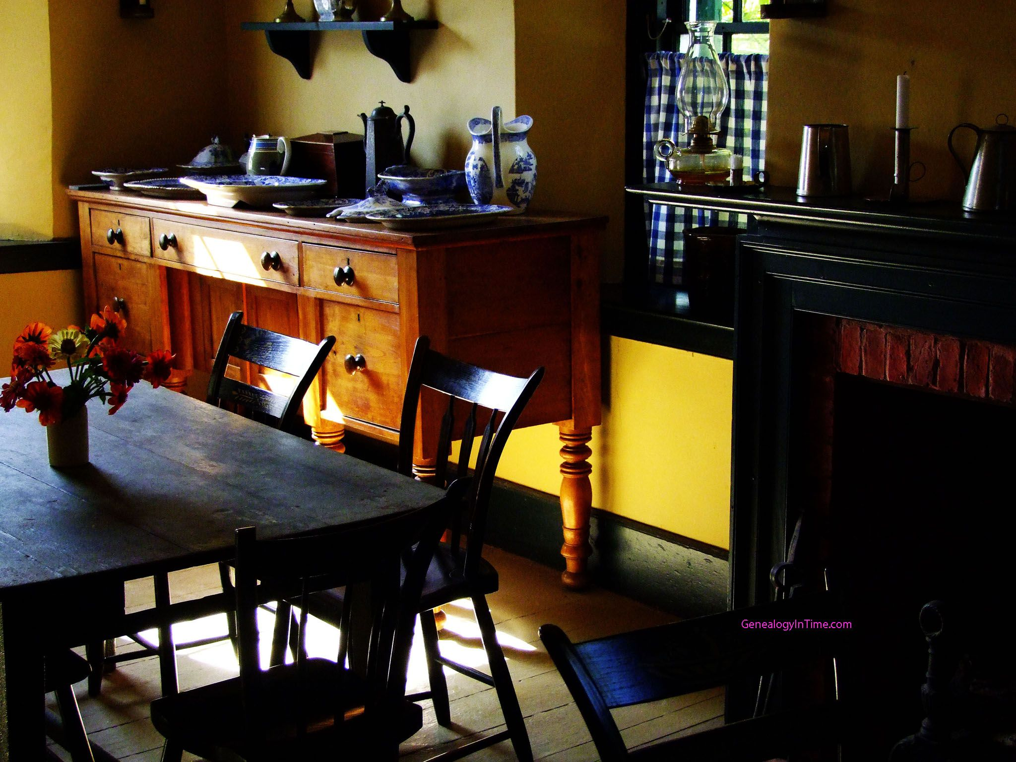 pioneer kitchen   Kitchen dinning, Early american homes ...