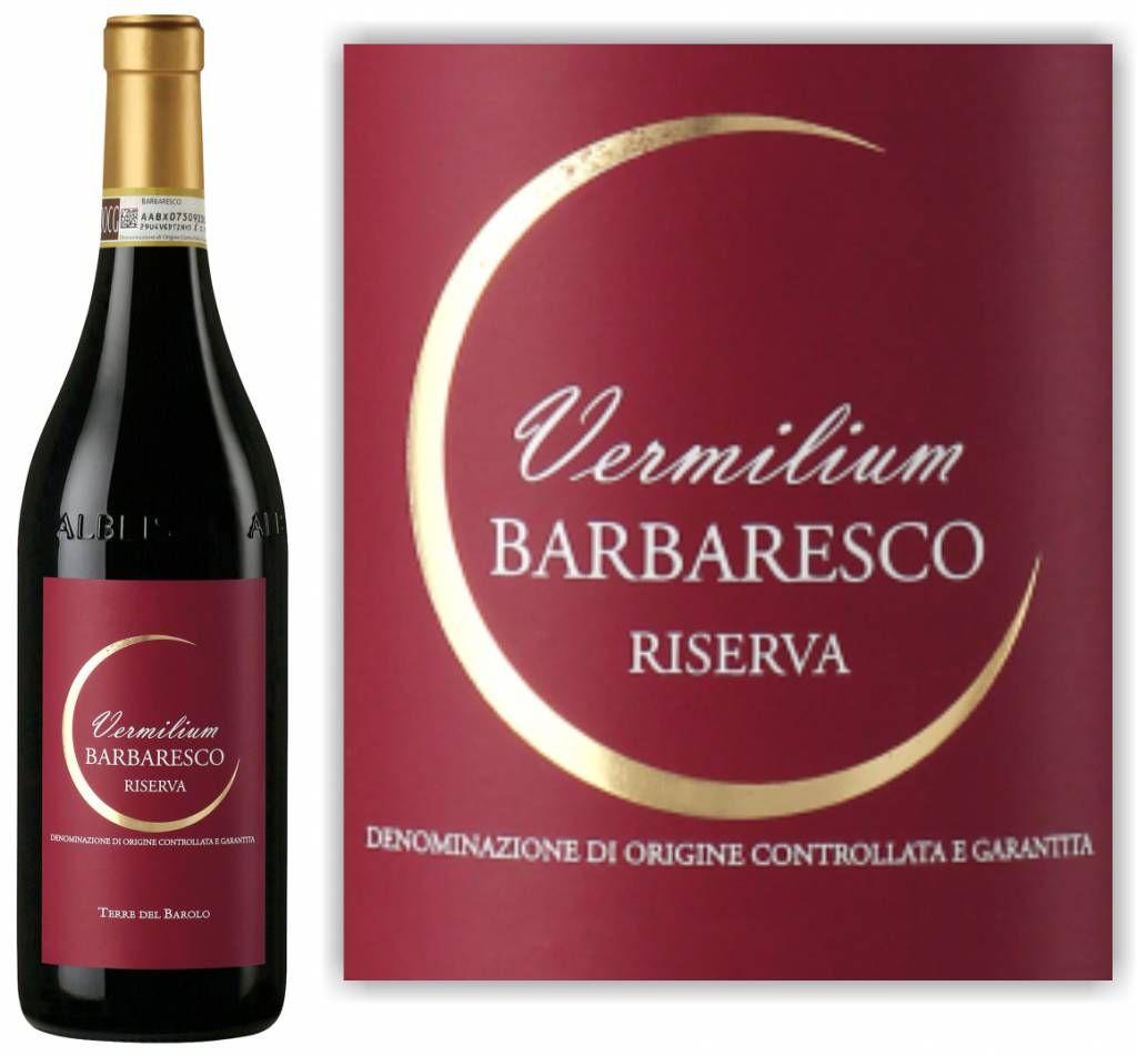 Barbaresco Riserva Vermilum Italiaanse Wijn Wijn Italiaans