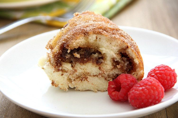 Coffee Cake Made With Low Fat Bisquick