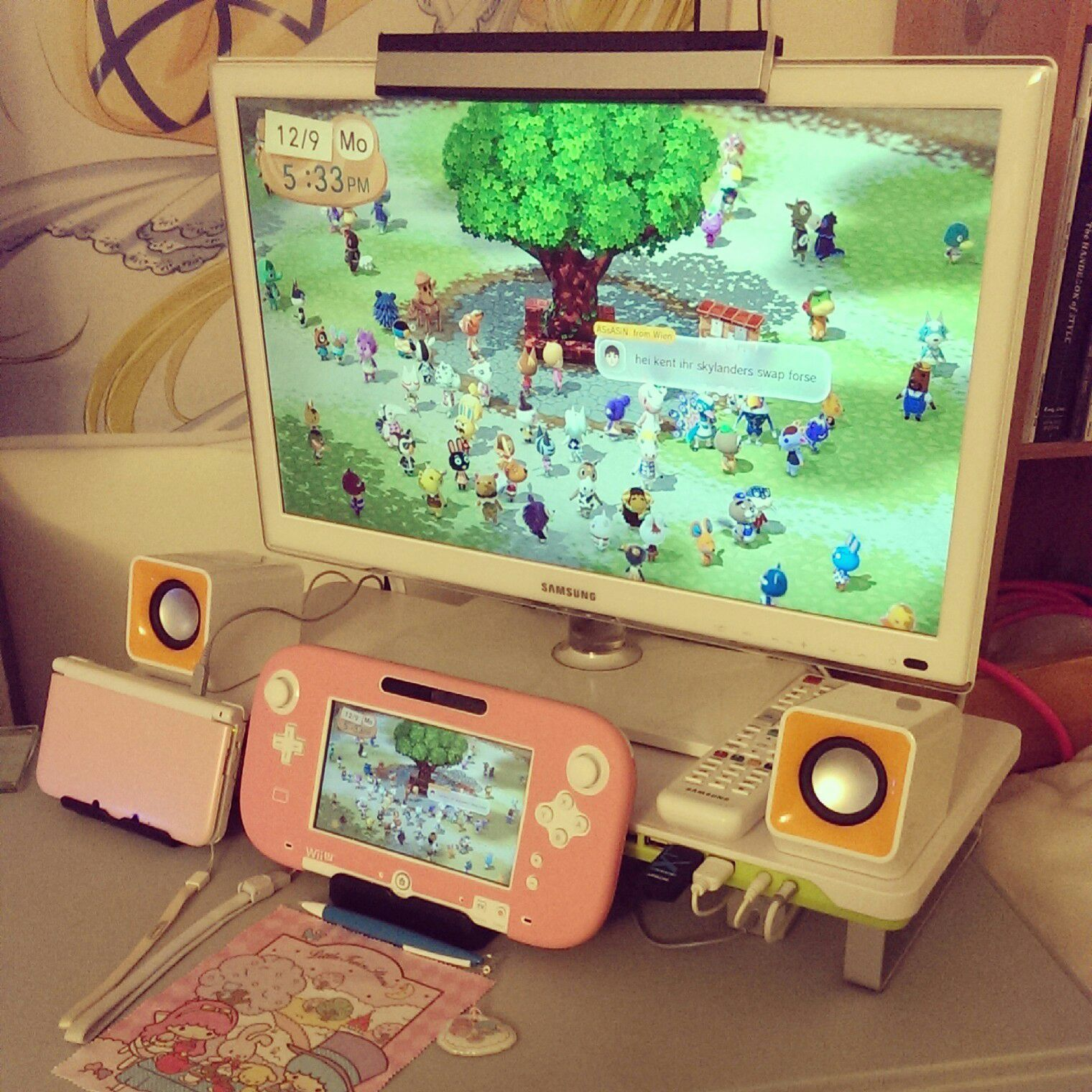Aesthetic Kawaii Gaming Setup