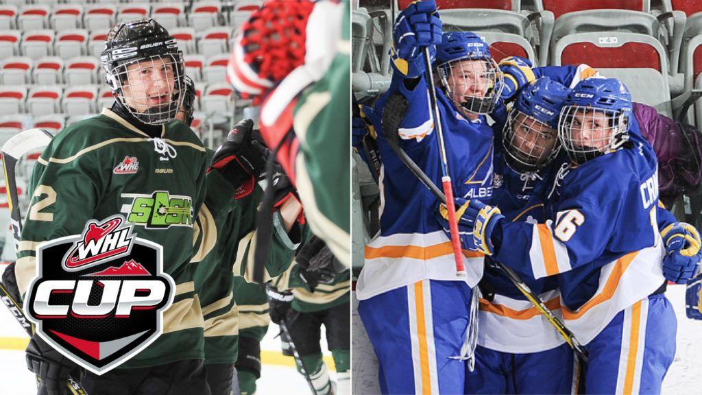 WHL Cup Day 2 Saskatchewan, Alberta score wins on