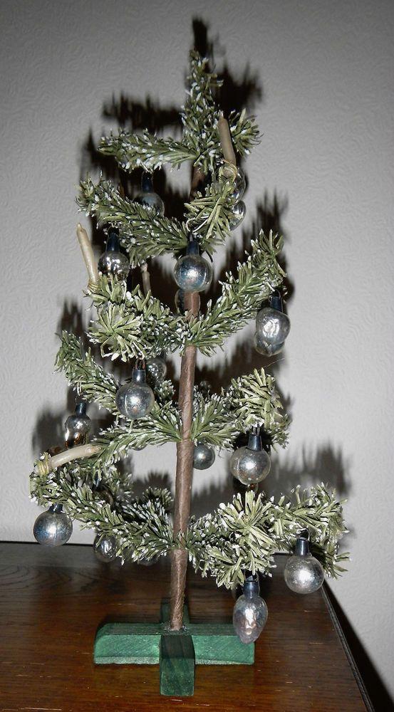 Awesome Weihnachtsbaum Christbaum Tannenbaum f Puppenstube f Puppe cm Lauscha Kugeln
