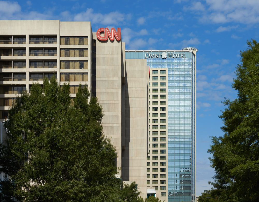 Exterior Atlanta hotels, Centennial olympic park, Lets