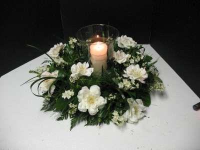 Blanco y negro central de la boda - centrales de la recepción