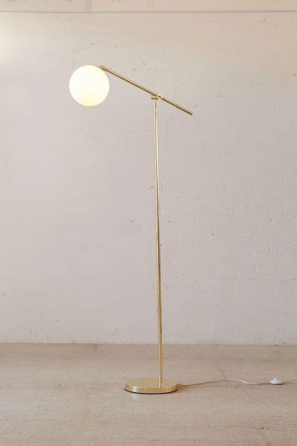 Slide View: 1: Globe Floor Lamp