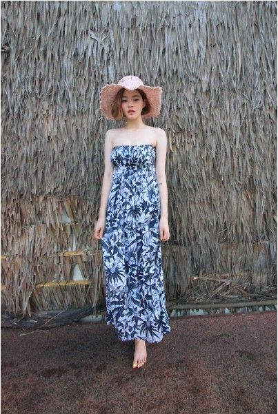 Summer Maxi Dress    #dress #maxi #summer #kooding #koreanfashion #koreanstyle #fashion #style