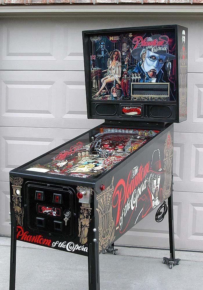Phantom of the Opera pinball  One day this will be mine, oh