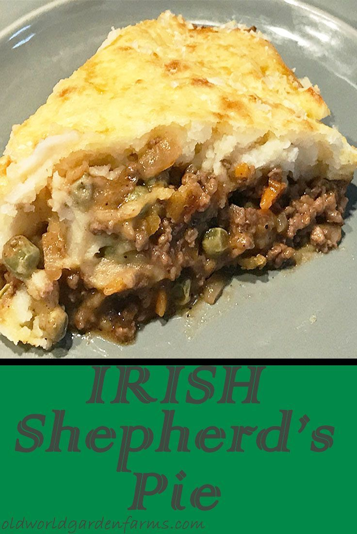 Irish Shepherd S Pie Recipe A Traditional Recipe With A Twist Recipe Irish Shepherds Pie Recipe Irish Shepherd S Pie Shepherds Pie