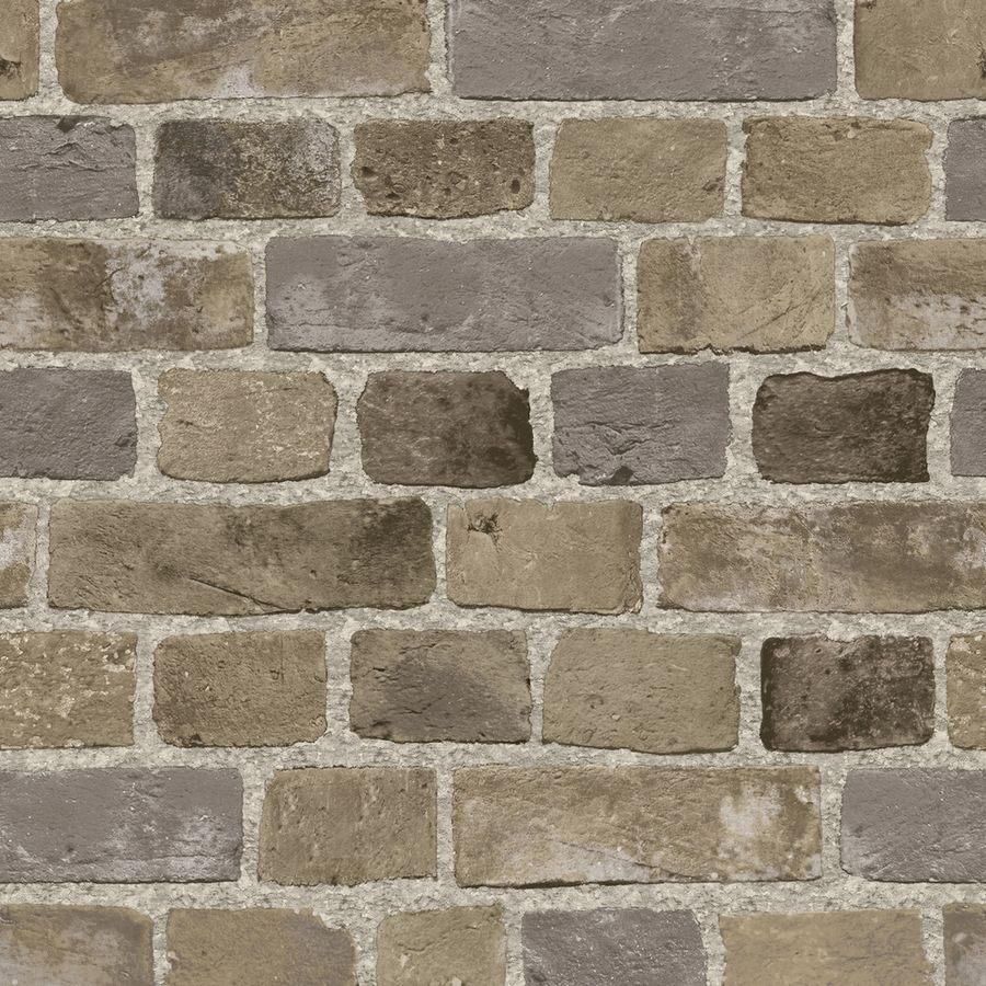 Brick Wallpaper Pattern This Surface Illusions Is Made Of Vinyl Its Textured And Very Real Looking Perfect For A Kitchen Back Splash Or Use In