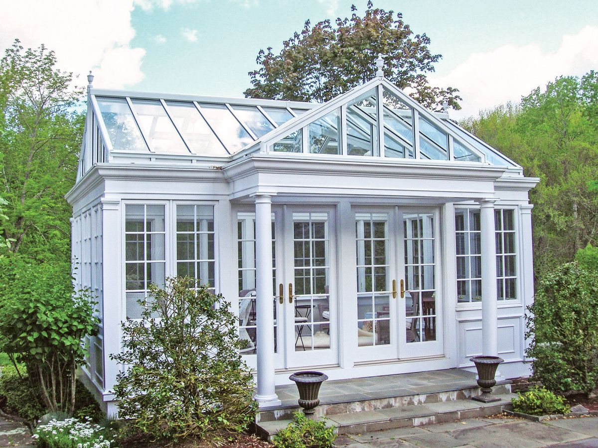 Conservatories For The Period Home Glass House Garden Glass House Pool Houses