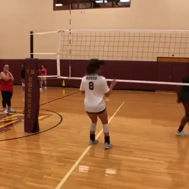 Volleyball Discover Amazing Volleyball Hitting Drill Try This Out When You Can This Is A Great Dril In 2020 Volleyball Workouts Volleyball Tips Volleyball Training