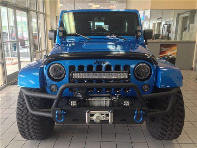 2014 Jeep Wrangler Unlimited Polar Edition In Hydro Blue How And