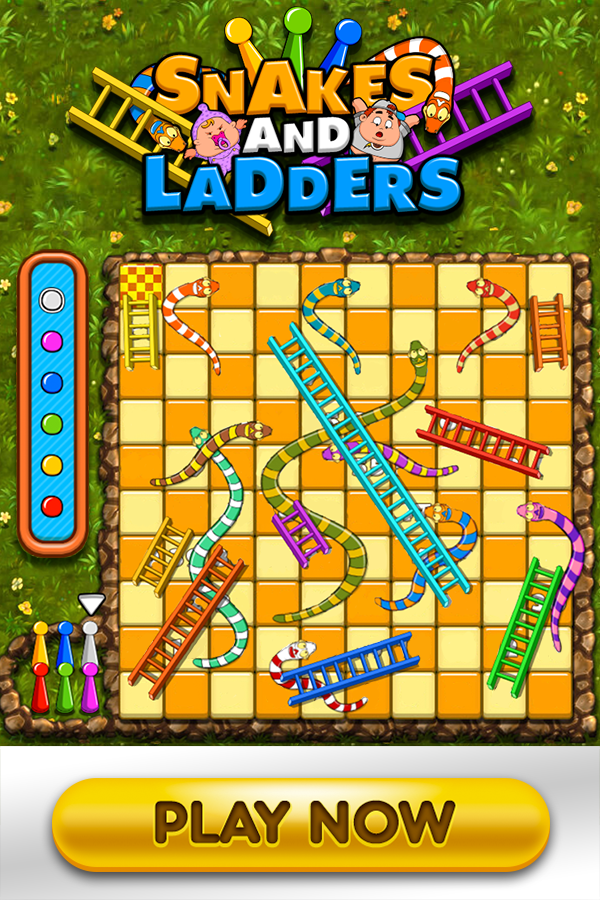 snake ladder game 2 player