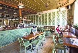 modern tea room
