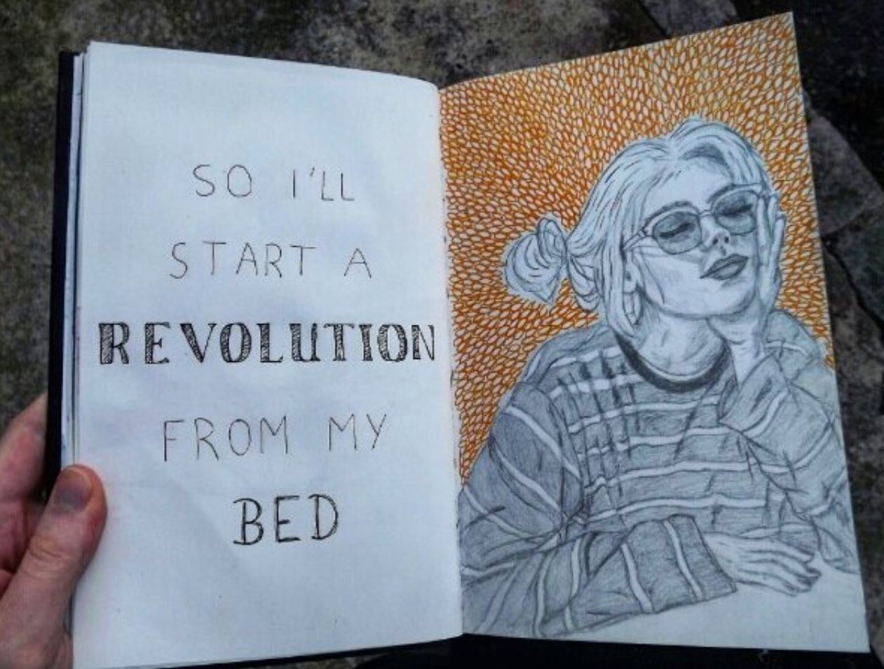 Art Quotes Drawing Tumblr Aesthetic Bullet Journal