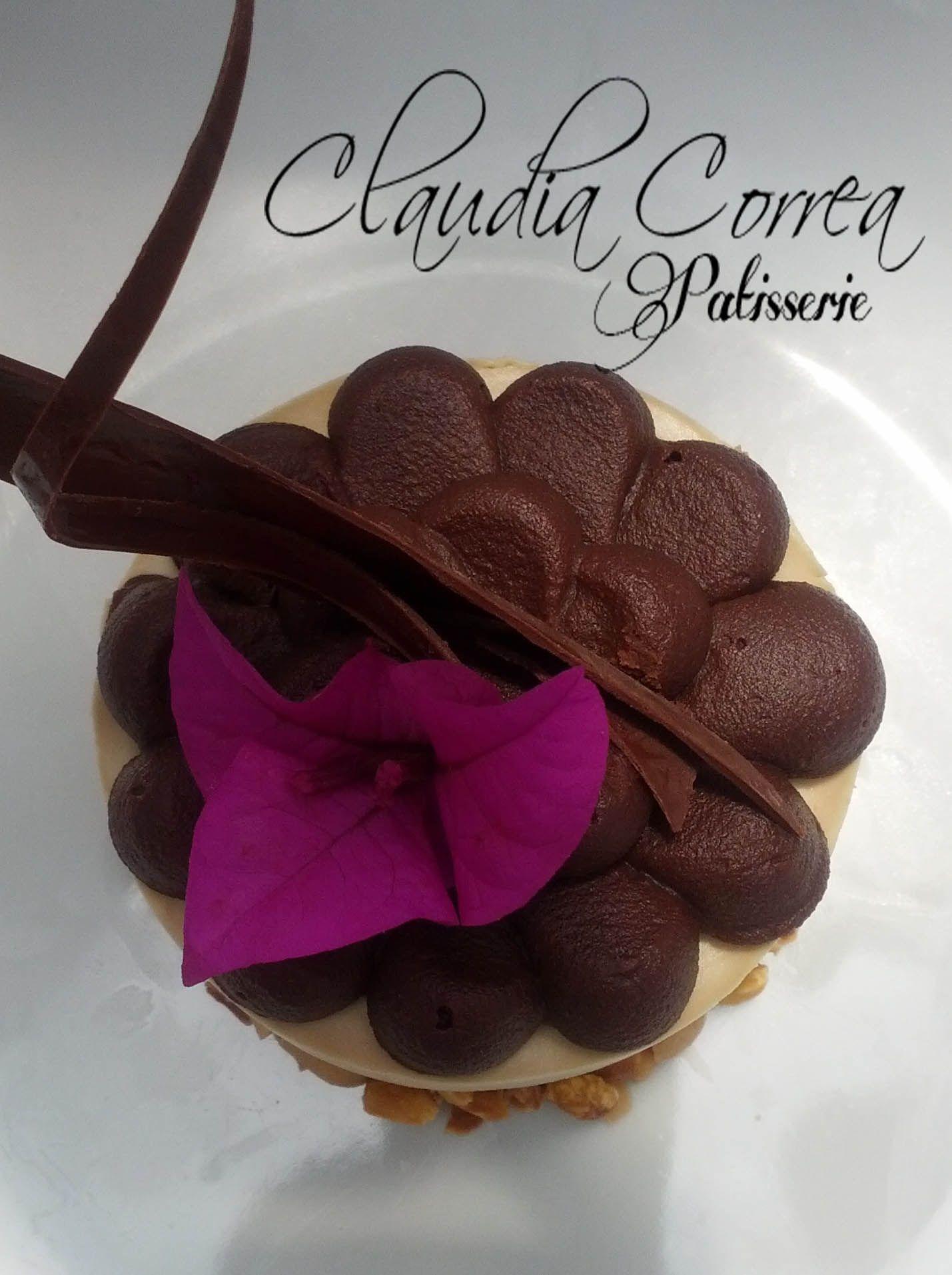 ¡¡¡ DELICIOSO MOUSSE DE CAFÉ CON CROCANTE DE MANÍ Y RELLENO DE CAKE DE VAINILLA Y AREQUIPE !!!