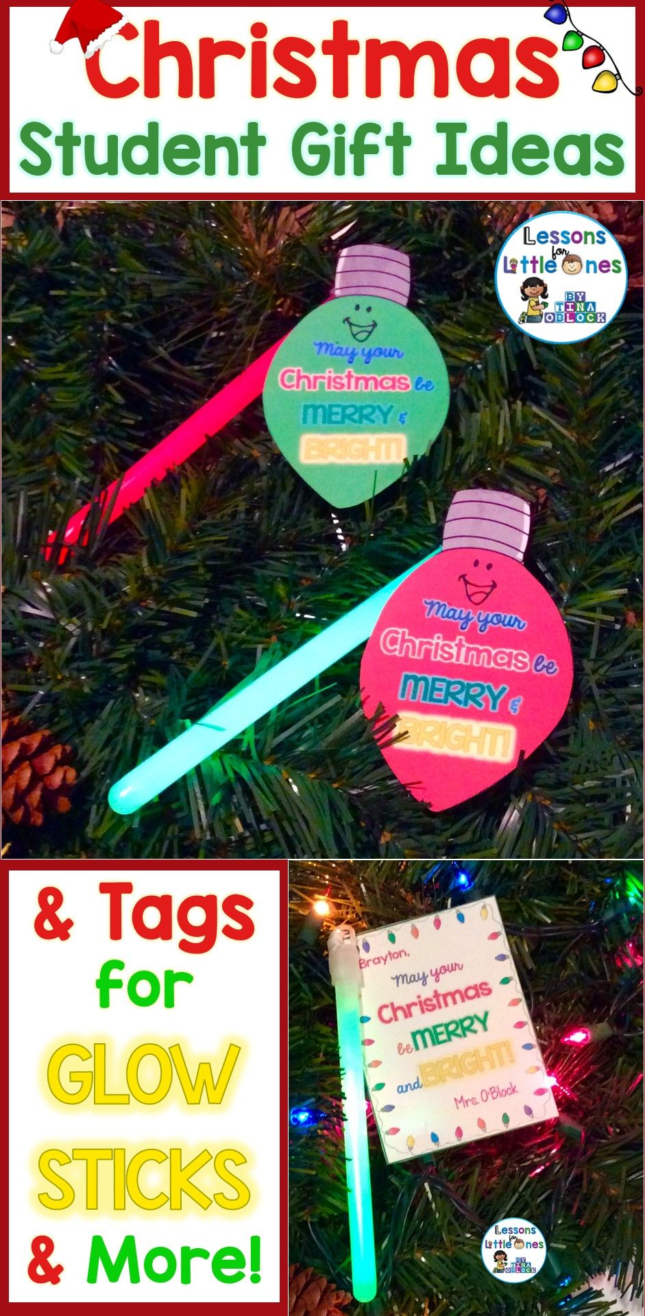 Christmas Student Gift Ideas & Gift Tags | Student Rewards, Student ...