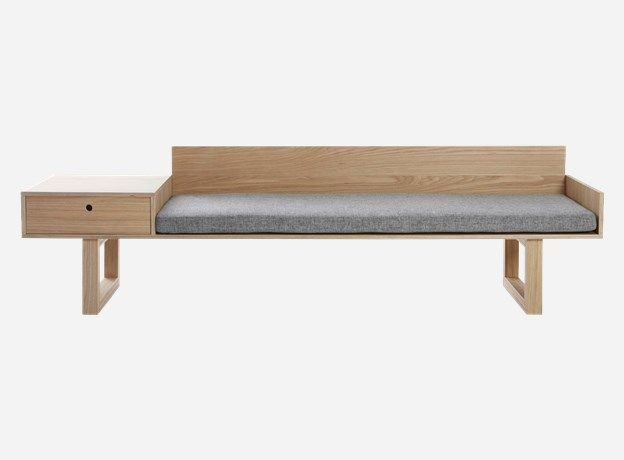 house doctor mf0250 sofa oak 220x60 cm h 60 cm incl mattress rh pinterest com