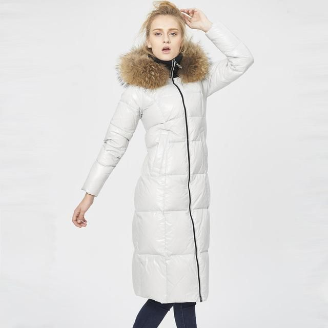 Hooded Winter Duck Down Jacket Women Coat Parkas Thicken Female Clothes 0ab19cf98