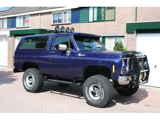 Chevrolet Blazer Blazer 5 7 K5 Op Benzine 300pk Auto Te Koop