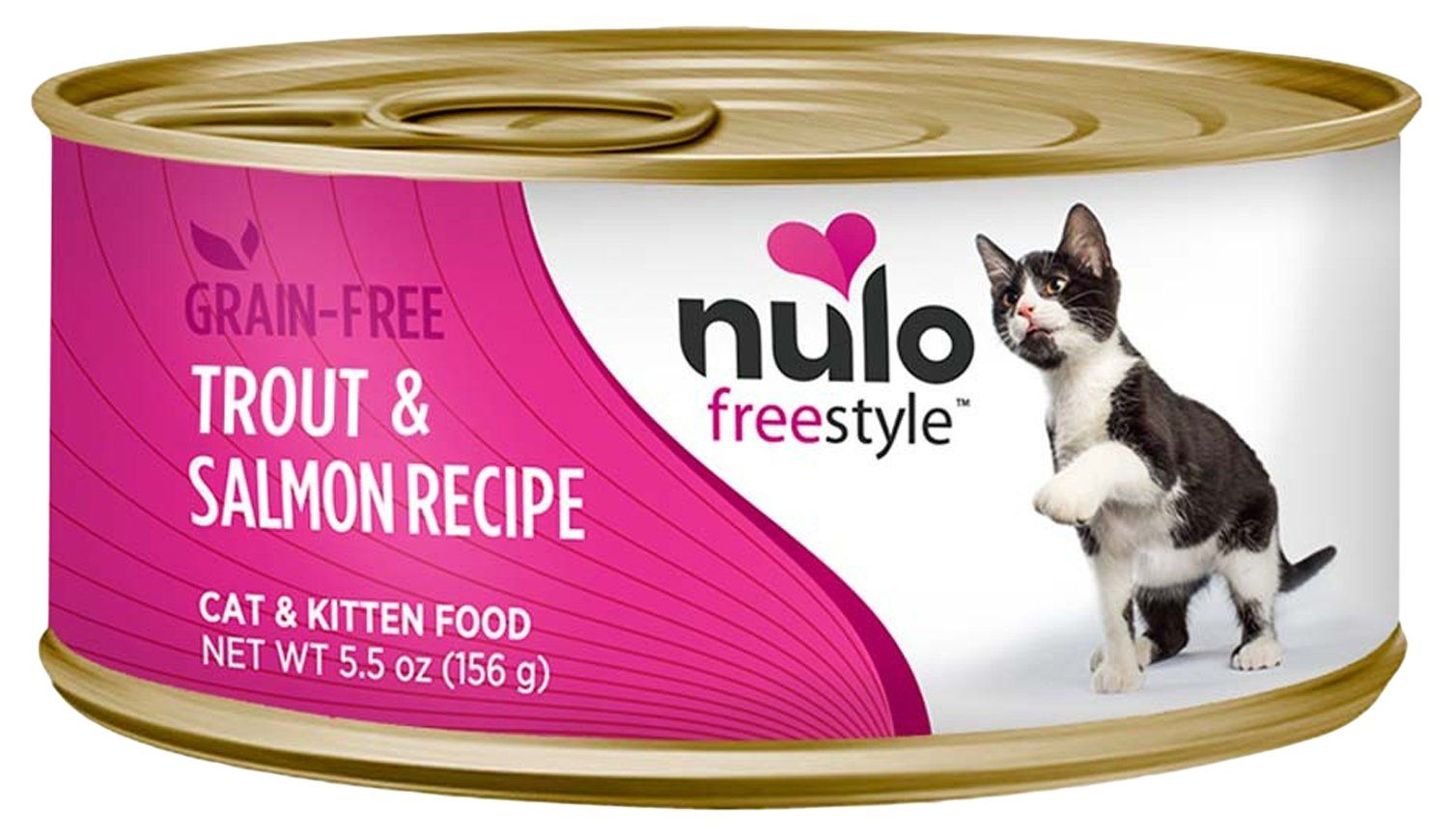 Nulo 1 count freestyle grain free trout and salmon recipe